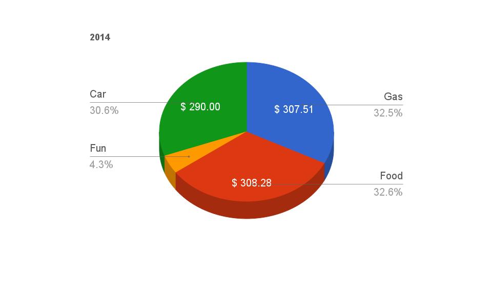 2014 camp budget