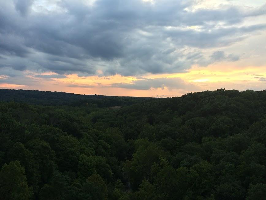 akron sunset
